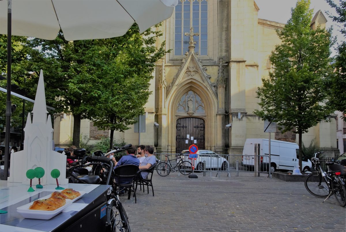 Street or Place Meersman in the very heart of Cureghem